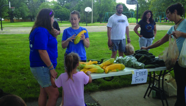 Prochotsky provides fresh produce to the less fortunate