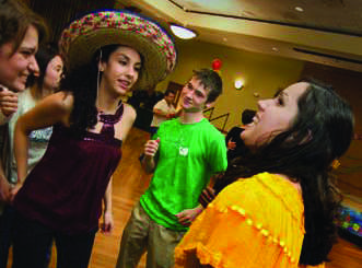 Latin culture culminates at the IWU Barrio Fiesta