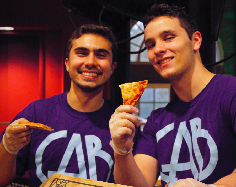 "Students enjoy CAB's ""Pizza Taste"""