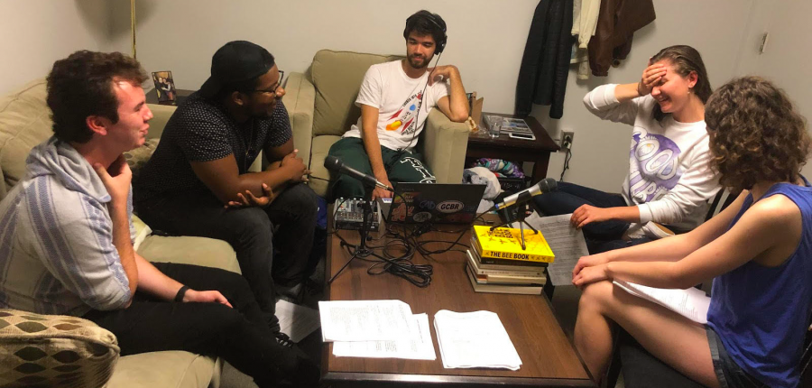 "Introducing IWU's podcast ""Slightly Underwhelming"""