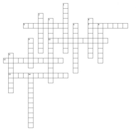 Inauguration Crossword