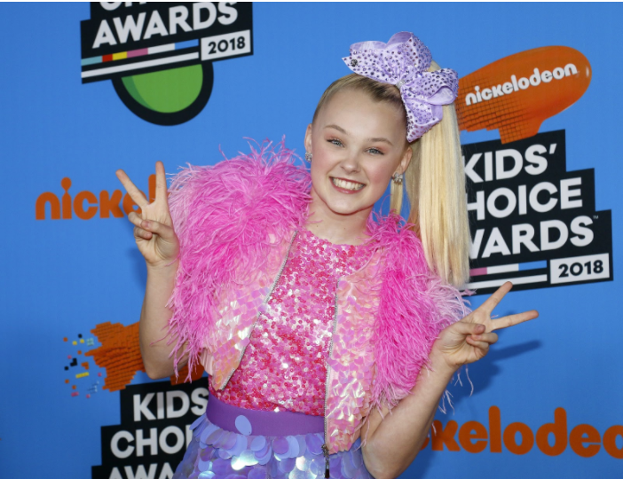 Jojo Siwa at the 2018 Nickelodeon Kids' Choice Awards. Photo: Shutterstock