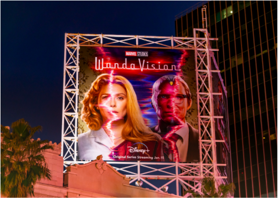 The last episode of WandaVision premiered on March 5th.  Photo: GC Images