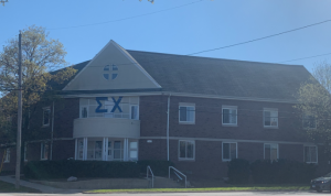 Sigma Chi came under fire on Tuesday, Apr. 13 after allegations of a violent hazing incident.  Photo: Katie Fata